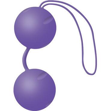 Joy Division Joyballs Trend, фиолетовые Вагинальные шарики o вибромассажеры joy division