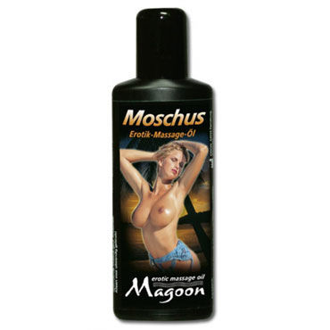 Magoon Muskus, 100 мл Массажное масло с ароматом мускуса вибромассажер vinyl p shape vibrator