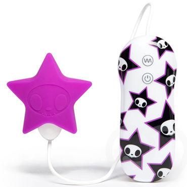 Tokidoki 10 function Pink Star, фиолетовый Вибратор с пультом управления вибратор rubber pink