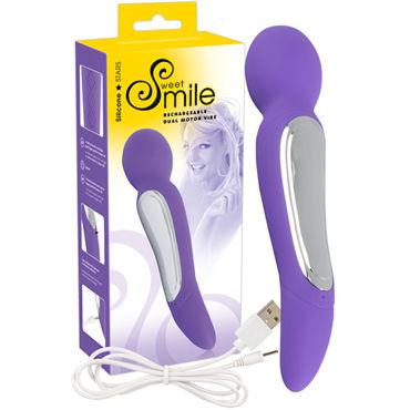 Smile Rechargeable Dual Motor Vibe, фиолетовый Вибратор-массажер перезаряжаемый