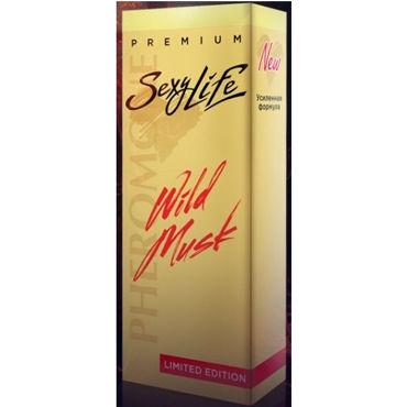 SexyLife Wild Musk №9 Dark Purpler, 10мл Духи для женщин juju lubricant съедобный 100мл со вкусом грейпфрута
