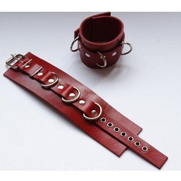 Beastly наручники, красные С металлической фурнитурой л игрушки для фиксации beastly