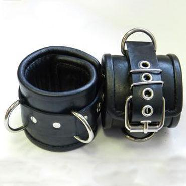 Beastly наручники, черные С мягкой подкладкой
