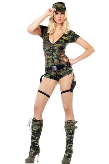 Le Frivole Спецназ Камуфляжное боди и ремень костюм полицейского le frivole costumes костюм полицейского