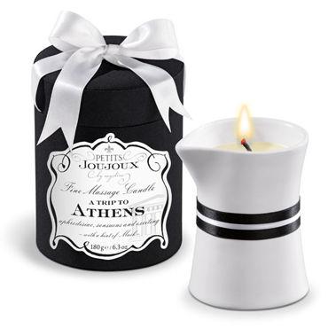 Mystim Petits Joujoux A Trip To Athens, 190г Свеча для массажа с ароматом мускуса и пачули