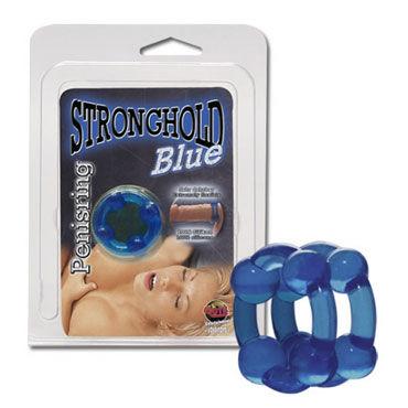 Super Flex, синее Двойное эрекционное кольцо