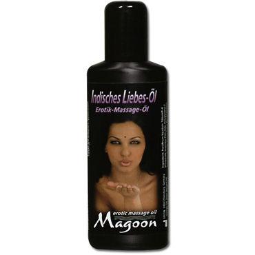 Magoon Indian Love, 50 мл Ароматизированное массажное масло фаллоимитатор sexus glass тройной 18 см