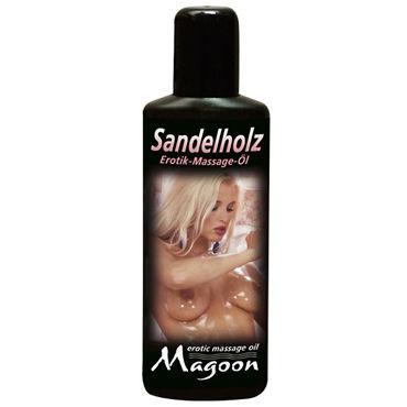 Magoon Sandalwood, 100 мл Ароматизированное массажное масло кольца и насадки на пенис диаметр 2 3 см