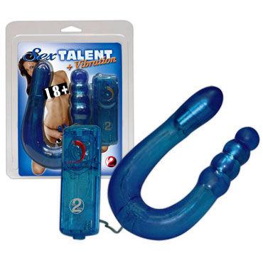 Sexy Talent Двусторонний анально-вагинальный вибратор водонепроницаемые вибраторы satisfyer