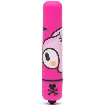 Tokidoki Wingding, розовая Вибропуля с рисунком вибропуля на гнущейся ручке mr flex