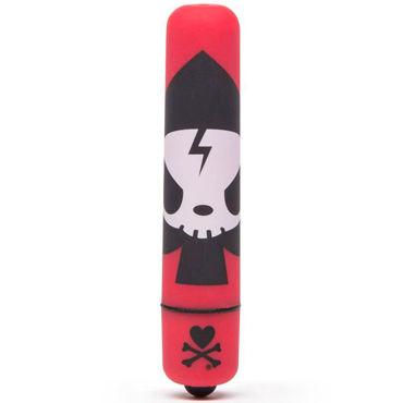 Tokidoki Ace, красная Вибропуля с рисунком вибропуля на гнущейся ручке mr flex