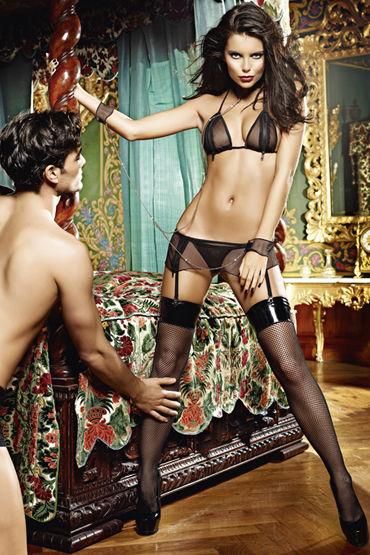 Baci Молния Любви Лиф, мини-юбка, воротничок и манжеты на цепочке i прочие аксессуары baci lingerie