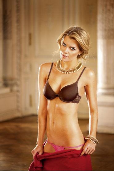 Baci бюстгальтер, коричневый С кружевом насадка clear sensations enhancer sex sleeve прозрачный