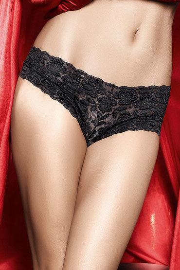 Baci трусики, черные Кружевные шортики cotelli платье горничной черно белое с открытой спиной с застежкой на шее