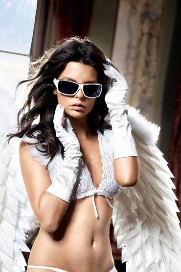 купить Baci перчатки, белые Сатиновые по цене 2773 рублей