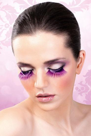 Baci Lashes, фиолетовый Накладные ресницы