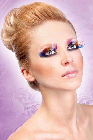 Baci Lashes, разноцветный Длинные накладные ресницы baile twins ball розовые очки