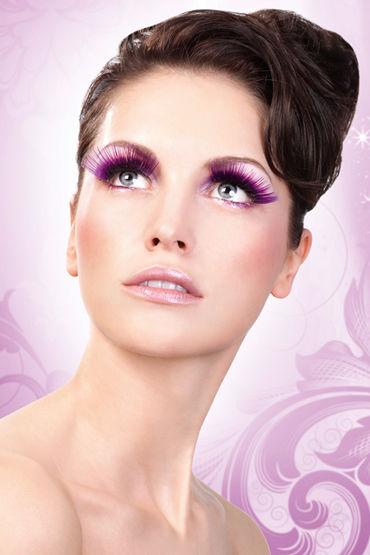 Baci Lashes Deluxe, фиолетовый Накладные ресницы