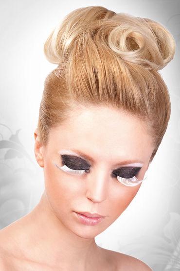 Baci Lashes, белый Накладные ресницы с перьями насадка clear sensations enhancer sex sleeve прозрачный