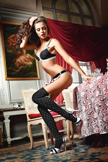 купить Baci Dreams Playful French Maid Чулки в горошек по цене 788 рублей