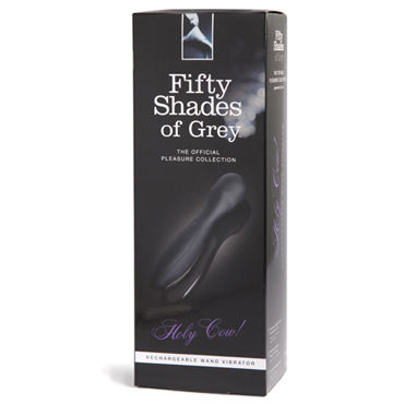 Новинка раздела Секс игрушки - Fifty Shades of Grey Holy Cow! Rechargeable Wand Vibrator