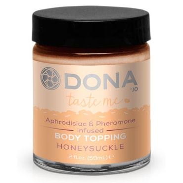 Dona Body Topping Honeysuckle, 59 мл, Карамель для тела со вкусом мёда