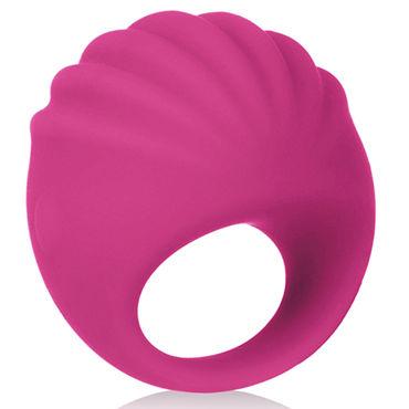California Exotic Silhouette S2, розовая Насадка на палец для стимуляции клитора, перезаряжаемая