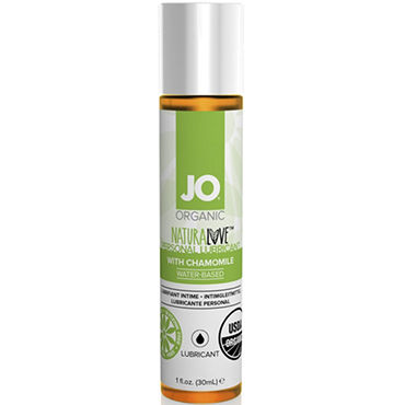 System JO Organic NaturaLove, 30 мл Органический лубрикант на водной основе, с экстрактом ромашки и erolanta