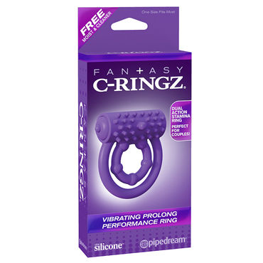 Pipedream Vibrating Prolong Performance Ring Эрекционное кольцо