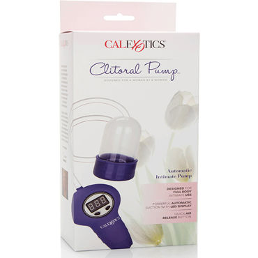 California Exotic Clitoral Pump Automatic Intimate Pump, Помпа для клитора