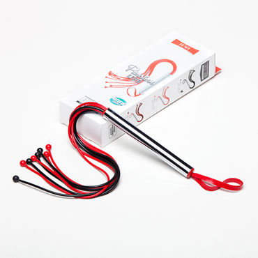 Sitabella Плеть, черно-красная С шариками на концах вагины и мастурбаторы материал пвх