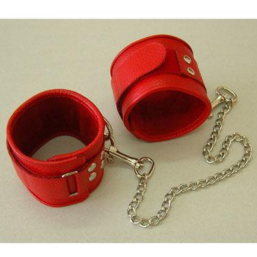 Sitabella оковы, красный С застежкой на липучке bdsm арсенал ошейник с кольцом для поводка красно черный декорирован шипами