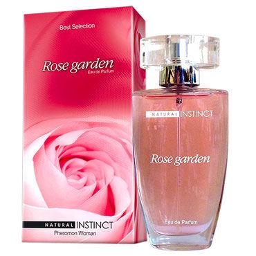 Natural Instinct Rose Garden для женщин, 50 мл Духи с феромонами natural instinct play up для женщин 100 мл духи с феромонами