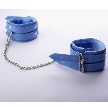 Sitabella Оковы голубой С мехом и двумя пряжками sitabella оковы голубой с искусственным мехом