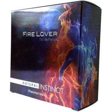 Natural Instinct Fire Lover для мужчин, 100 мл Духи с феромонами вибробабочки материал abs пластик это