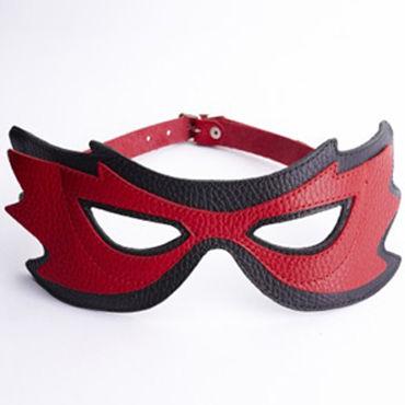 Sitabella маска, красная Оригинальной формы mif трусики с кольцом для крепления страпона на регулируемых ремешках
