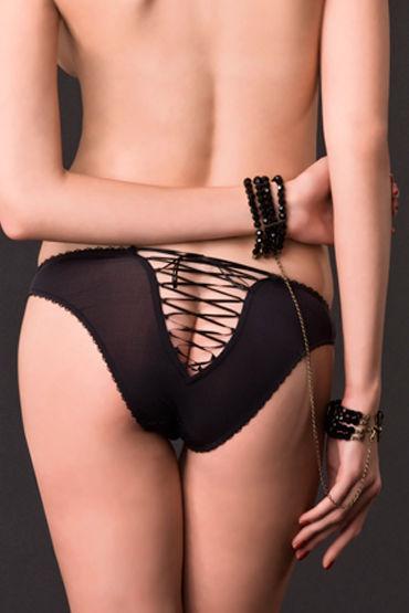Maison Close, наручники Divine Attache / Menottes Из стеклянных бусин с цепочкой i lolitta sensual черно красный