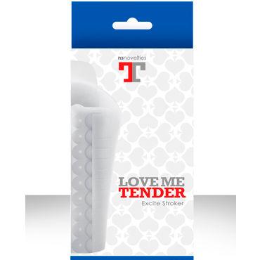 NS Novelties мастурбатор рельефный Love me tender Excite Супер мягкий