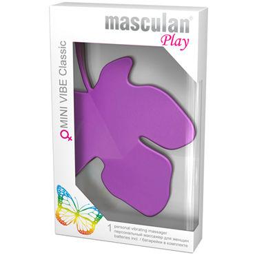 Masculan Mini Vibe Classic, фиолетовый Стимулятор клитора в виде листочка