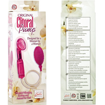California Exotic Original Clitoral Pump - фото 9