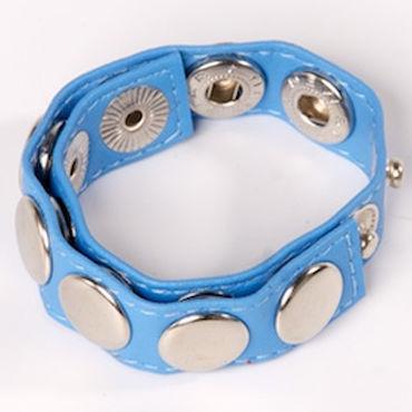 Sitabella утяжка, голубая С металлическими заклепками