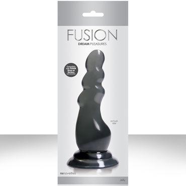 NS Novelties Fusion Pleasure Dongs, серый Фаллоимитатор-насадка к страпону