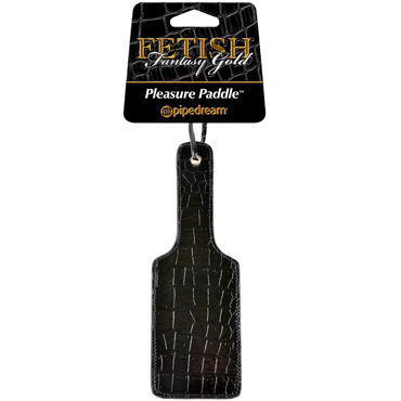Pipedream Pleasure Paddle Стильная широкая шлепалка ouch leather paddle красная шлепалка с прямоугольным наконечником