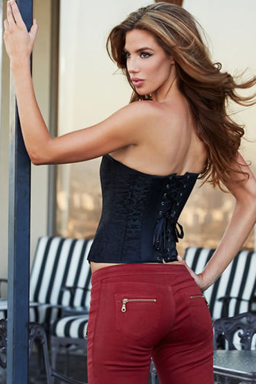 Baci Essential Satin & Lace Corset - фото, отзывы