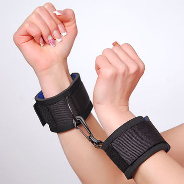 Sitabella наручники Тканевые, с карабином
