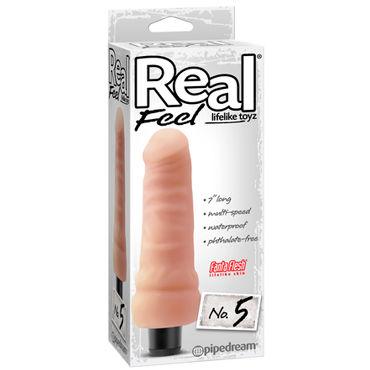 Pipedream Real Feel № 5 Реалистичный мультискоростной вибратор