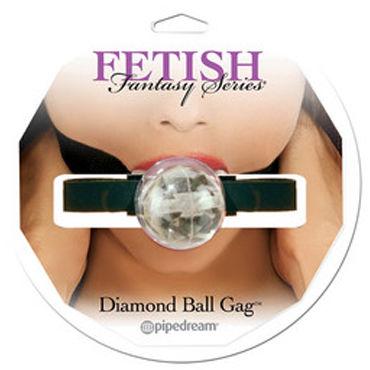 Pipedream Diamond Ball Gag Кляп с регулируемым ремешком