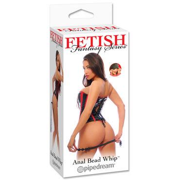Pipedream Anal Bead Whip Плетка с рукоятью в форме анальной цепочки