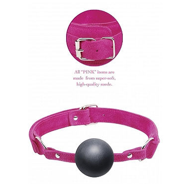 Pipedream Pink Ball Gag - фото, отзывы