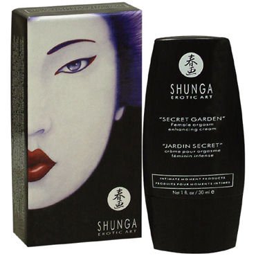 Shunga Secret Garden, 30 мл Стимулирующий крем для женщин